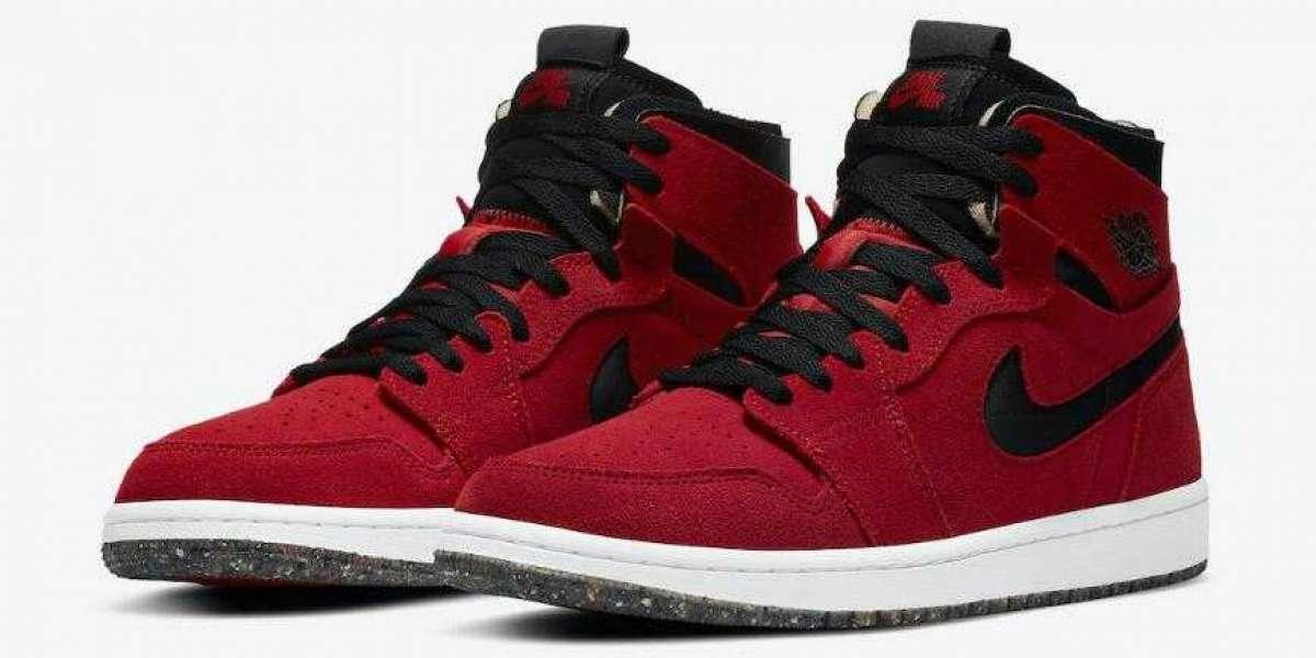 2020 Air Jordan 1 High Zoom Red Suede Releasing Soon