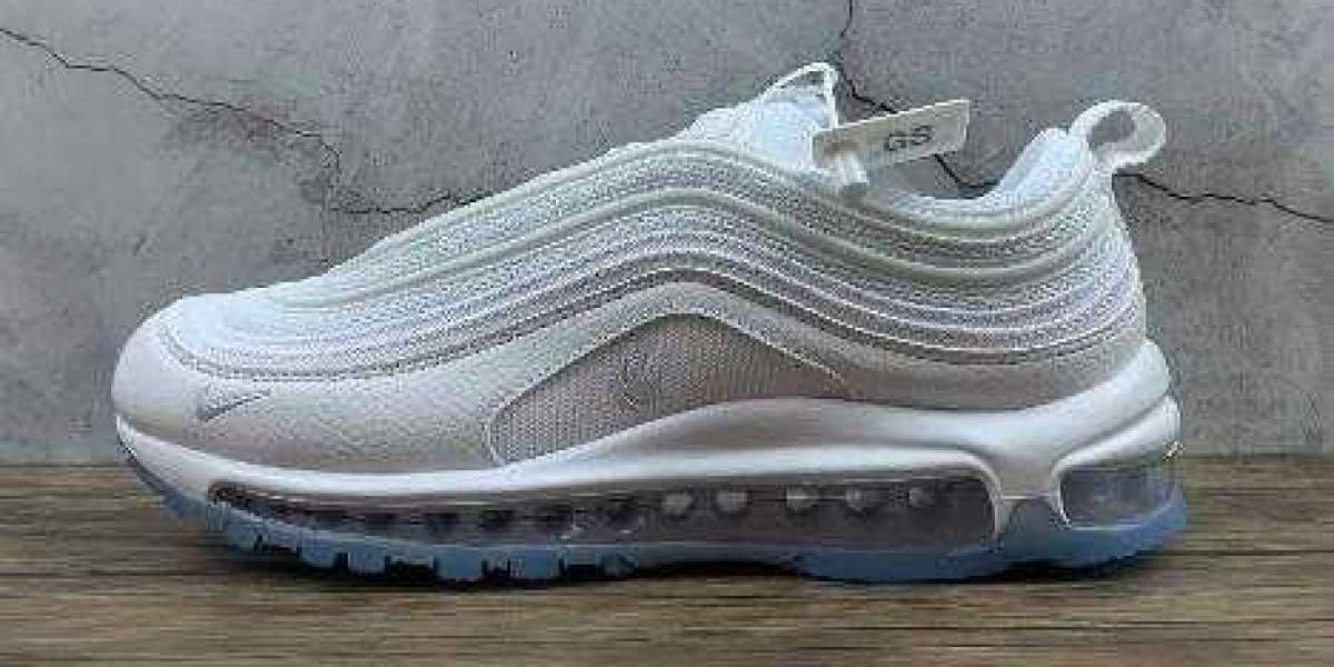 New Nike Air Max 97 QS White Ice Blue Hot Sell for 2021