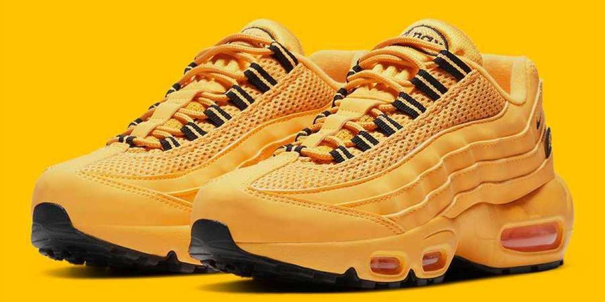 """Nike Air Max 95 GS """"NYC Taxi"""" 2021 New Arrival DH0147-700"""