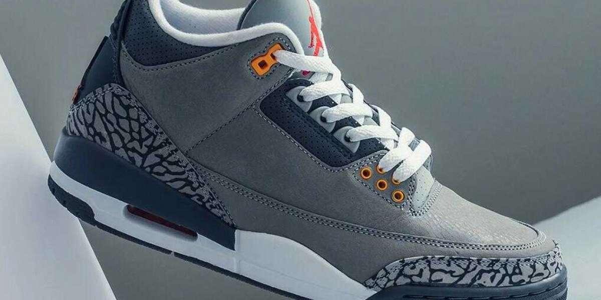 2021 New Brand Air Jordan 3 Cool Grey Will Release Tomorrow