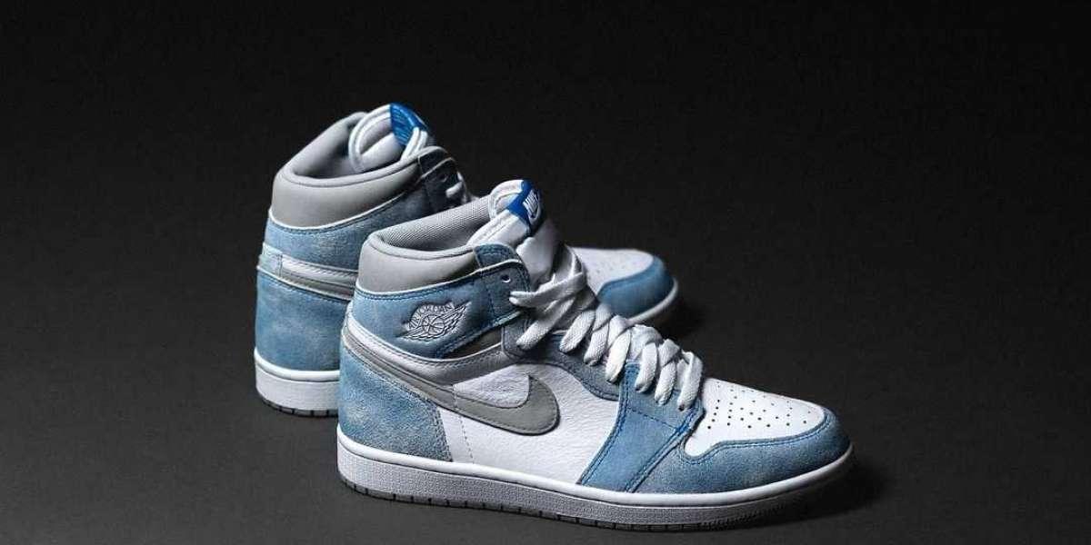 """Air Jordan 1 High OG """"Hyper Royal"""" 555088-402 Basketball Sneakers For Sale"""