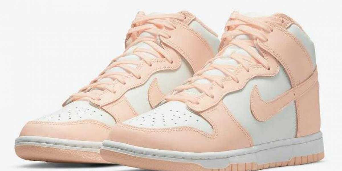 Where to Buy Nike Dunk High WMNS Crimson Tint for Cheap